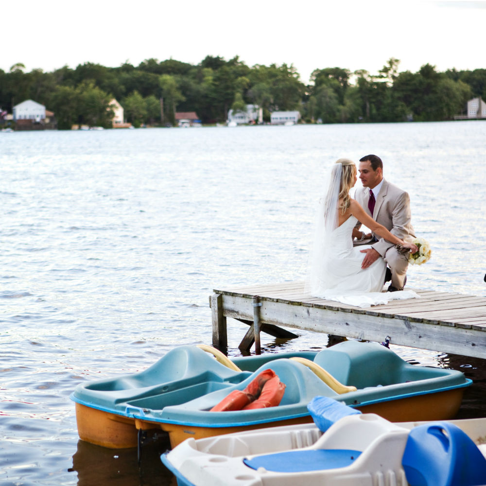 Katie Hall Photography B&G on Dock Boats gallery