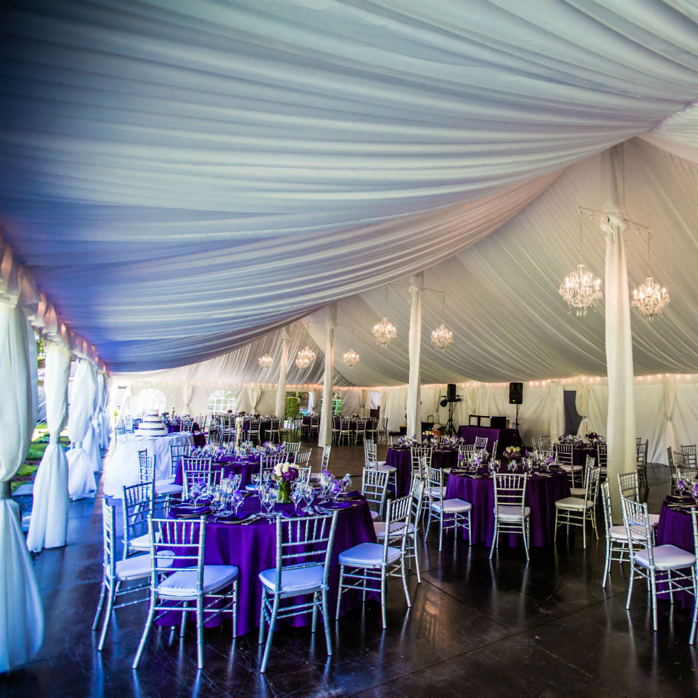 1 - Wide Angle Purple Tent gallery