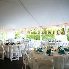 6 - tent with Pearl Package gallery