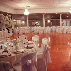 7 - White Wedding Ballroom Dancefloor gallery